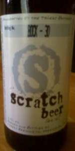 Scratch Beer 30 - 2010 (Jerman Bock)
