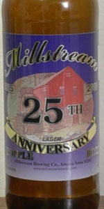 Millstream 25th Anniversary Dopple Bock