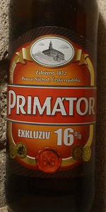 Primátor 16% Exkluziv