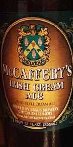 McCaffery's Irish Cream Ale