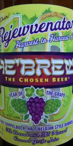 He'Brew Rejewvenator (Year Of The Grape) 2010