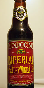 Imperial Barley Wine Style Ale