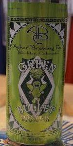Green Bullet Organic IPA
