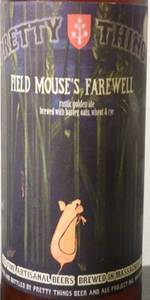 Field Mouse's Farewell