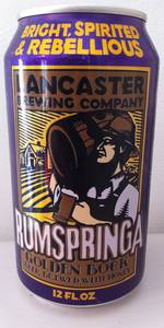 Rumspringa Golden Bock