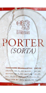 Ommegang Porter (Sorta)