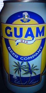 Guam USA Beer Company Island Lager