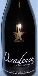 AleSmith Decadence 2010 English Style Old Ale