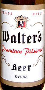 Walter's Premium Pilsener Beer