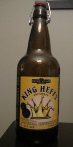 King Heffy Imperial Hefeweizen