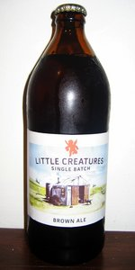 Little Creatures Brown Ale