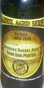 Bourbon Barrel Aged Dark Side Porter