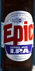 Epic Barrel Aged IPA