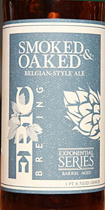 Smoked & Oaked Belgian-Style Ale