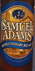Samuel Adams Revolutionary Rye Ale