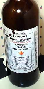 Bourbon Barrel Aged Fayston Maple Imperial Stout