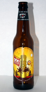 Odd Notion - Ginger Golden Ale (Summer 2010)