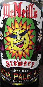 McNeill's Sunshine India Pale Ale