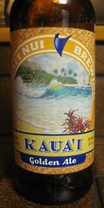 Hawai'i Nui Kaua'i Golden Ale