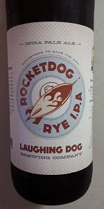 Laughing Dog Rocket Dog Rye IPA