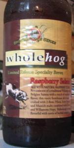 Whole Hog Raspberry Saison