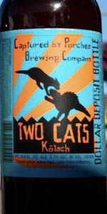 Two Kats Kolsch