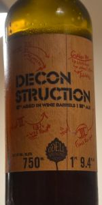 Odell DeConstruction Golden Ale