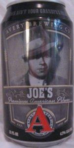 Joe's Premium American Pilsner