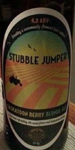 Stubble Jumper Saskatoon Berry Ale