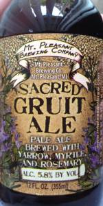 Sacred Gruit Ale