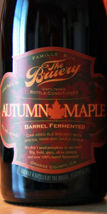 100% Barrel Fermented Autumn Maple