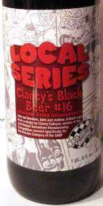 Local Series Clancy's Black Beer #16