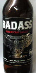 Badass American Lager