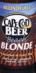 Cape Cod Beach Blonde