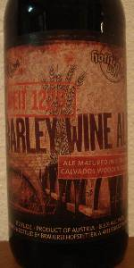 Barleywine Ale (Matured In E. DuPont Calvados Wooden Barrels)