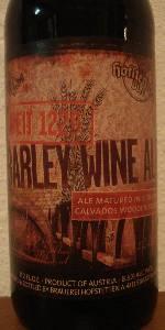 Barleywine Ale (Matured In E. DuPont Calvados Wooden Barrels)
