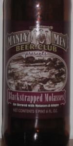 Manly Men Beer Club Blackstrapped Molasses