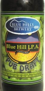 Blue Hills Pub Draft IPA