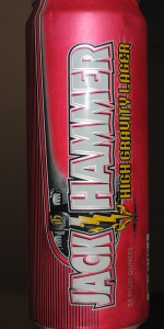 Jack Hammer High Gravity Lager