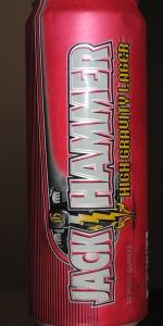 Jack Hammer High Gravity Lager