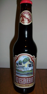 Old Neighborhood Oatmeal Porter