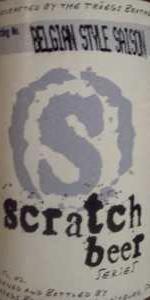 Scratch Beer 33 - 2010 (Saison De Mueze)