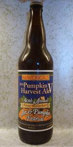 Maverick's 2010 Pumpkin Harvest Ale V