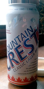 Mountain Crest Classic Lager Beer