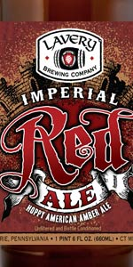 Lavery Imperial Red Ale