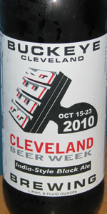 2010 Cleveland Beer Week India-Style Black Ale