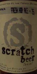 Scratch Beer 35 - 2010 (Fresh Hop Ale)