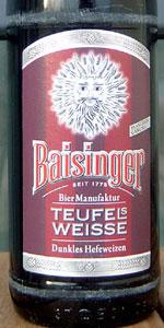 Baisinger Teufels Weisse Dunkles Hefe
