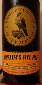 Porter's Rye Ale