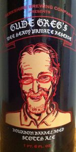 Gude Greg's Wee Heavy Private Reserve